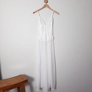 Frederick's of Hollywood Vintage Slip Tulle Dress